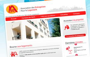 DL Net Interactive, agence web à Compiègne, a développé le site AEPL