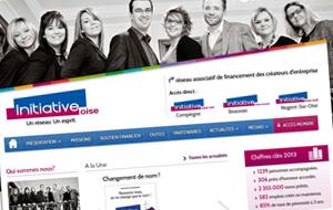 DL Net Interactive, agence web à Compiègne, a développé le site Initiative Oise
