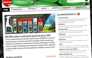 DL Net Interactive, agence web à Compiègne, a développé le site Molydal