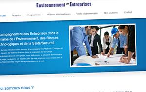 DL Net Interactive, agence web à Compiègne, a développé le site Environnement et Entreprises