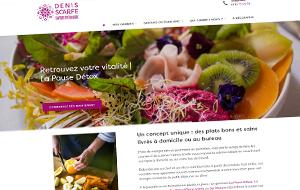 DL Net Interactive, agence web à Compiègne, a développé le site Denis Scarfe
