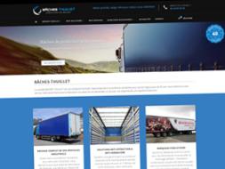 DL Net Interactive, agence web à Compiègne, a développé le site BÂCHES THUILLET