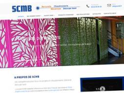 DL Net Interactive, agence web à Compiègne, a développé le site SCMB