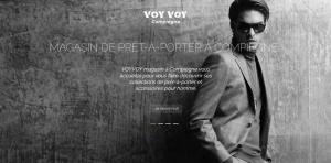 DL Net Interactive, agence web à Compiègne, a développé le site VOYVOY