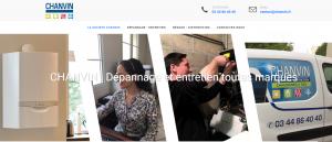 DL Net Interactive, agence web à Compiègne, a développé le site CHANVIN